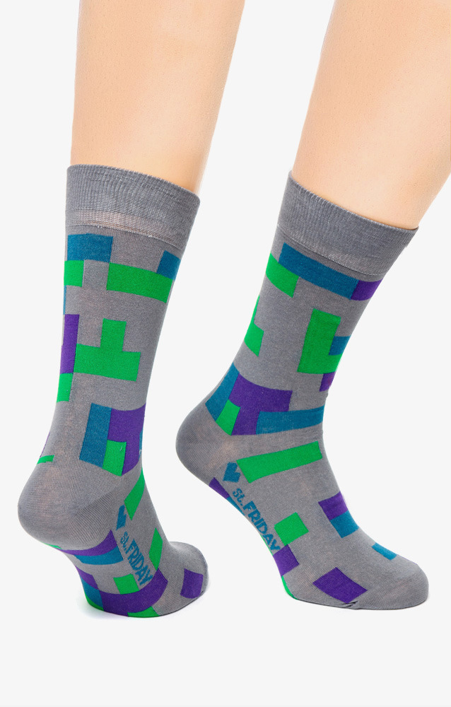 Носки Серые St.Friday Socks от Trends Brands