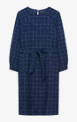 Платье Trends Brands Base Синий КЛЕТКА 1710_dr259_navy_check_at_belt